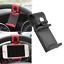 AUTO-DECORATIVE-ACCESSORIES-Car-Steering-Wheel-Bike-Handlebar-Phone-Holder-Clip thumbnail 2