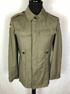 ARMY VINTAGE '70 Camicia Uomo Militare Tedesca Military Shirt Sz.S - 46 #1