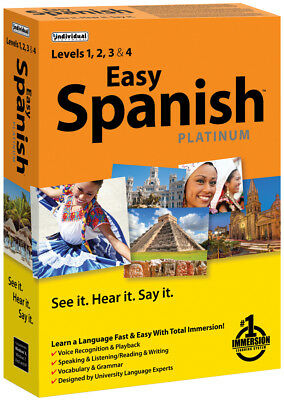 EASY SPANISH LEARN SPANISH PLATINUM PC Software--Windows 10,8,7,XP----brand  new | eBay