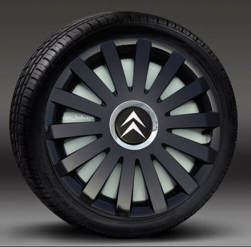 "4x15/"" wheel trims Covers to fit Citroen C4,C5 Hub Caps"