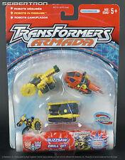 Destruction Mini-Con Team BUZZSAW DRILL BIT DUALOR Transformers Armada New