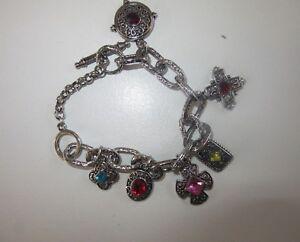 vintage silver coloured bracelet