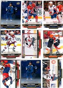 2013-14-Upper-Deck-Exclusives-PICK-YOUR-SINGLES-LOT-WOW-FLAT-SHIPPING-RATE