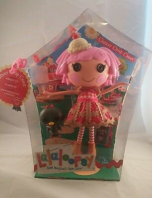 Lalaloopsy Cherry Crisp Crust Sew Magical Sew Cute Doll New in box