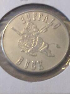 Token-1970-Buffalo-Buck-Regina-Saskatchewan-Canada-1-Dollar-Coin-P19