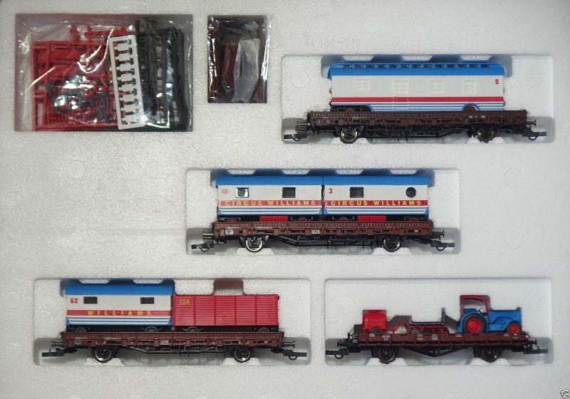 Roco H0 Güterwagen-Set  Circus Williams  Art.-Nr. 44130    H 300  | Praktisch Und Wirtschaftlich