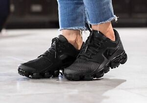 0e626c6a59 Nike Air VaporMax AH9045-002 Black Anthracite Running Shoes Wmn Size ...