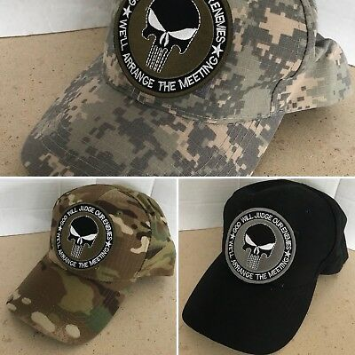 SAS Special Forces gun Operator Military Baseball cap Embroidered Patch camo