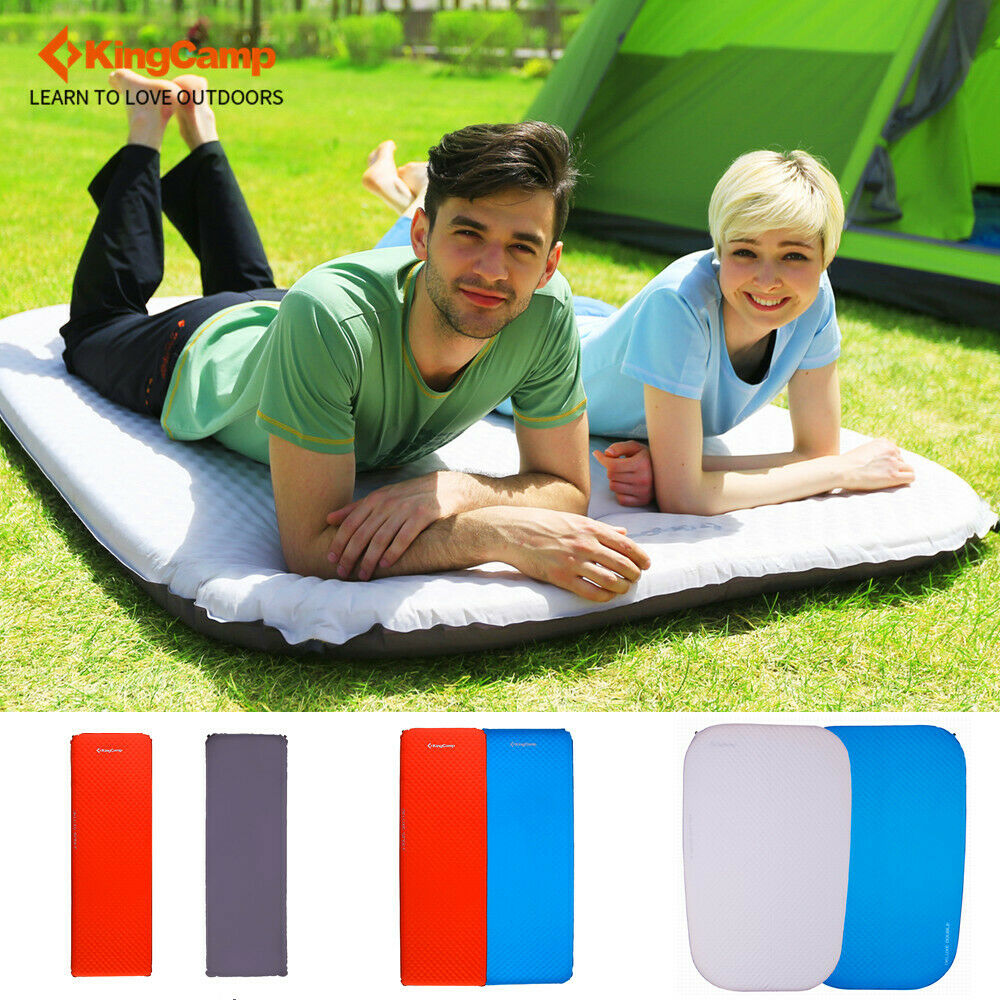 Kingcamp Single SelfInflating Mattress Dampproof Lightweight Air Sleeping Mats