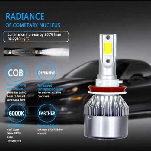 4x White LED Headlight Bulb Hi//Low Beam Combo Kit For Toyota 4Runner 2006-2018