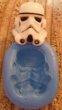 STAR WARS STORM TROOPER SILICONE MOULD FOR CAKE TOPPERS, CHOCOLATE, CLAY ETC