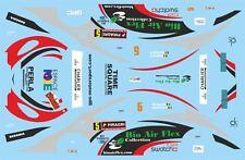 DECALS 1/43 PEUGEOT 307 WRC - #5 - BONJEAN - RALLYE DE WALLONIE 2013 - D43375