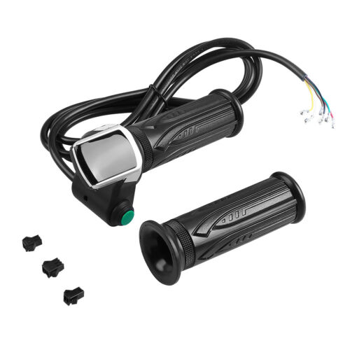 Waterproof LCD Display Throttle Handlebar Grip 6 Wires for E-bike Car Scooter❤GS