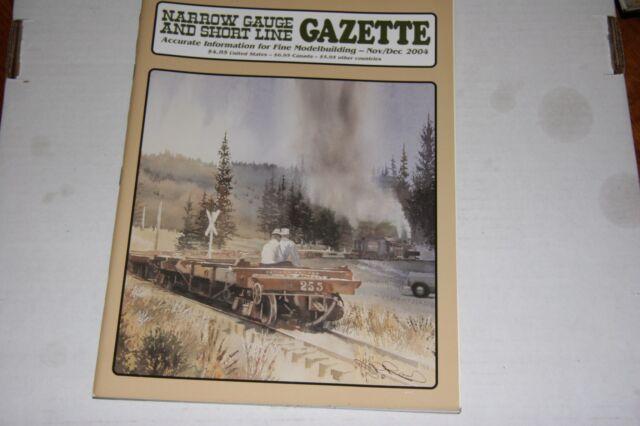 NARROW GAUGE & SHORTLINE GAZETTE ISSUE 11/12 2004