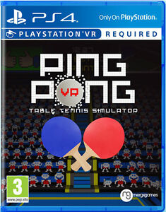 Ping-Pong-PS4-VR-Tout-Neuf-Scelle-PLAYSTATION-4