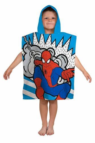 Character World Hooded Poncho Fleece 100/% Cotton Beach Towel 50 x 115 cm New