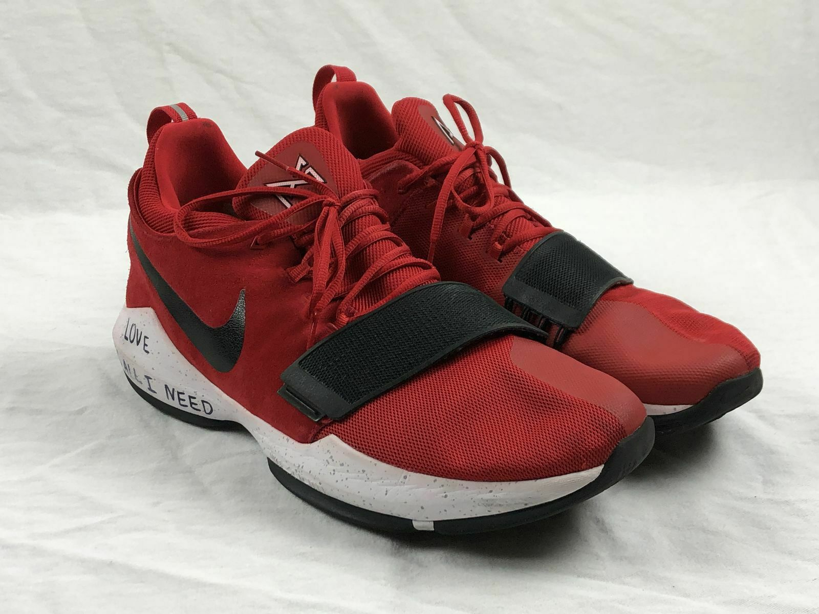Nike PG 1 University Red - Red Basketball shoes (Men's 16) - Used