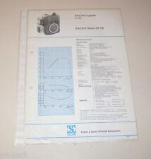 Typenblatt / Technische Daten Sachs-Stamo ST 150 - Stand 1973!