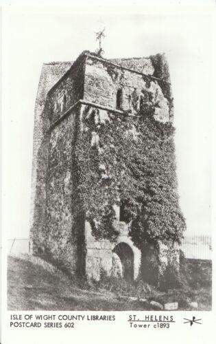 St Helens Isle of Wight Postcard Tower c1893 U802