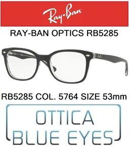 f04c0a6cc4 Occhiali da vista RAY BAN RX OPTICS RB 5285 5764 size53mm RAYBAN ...