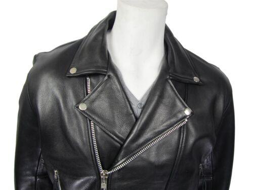 uomo nera in in Harley pelle pelle da Harley Giacca bovina morbida I7UBqq