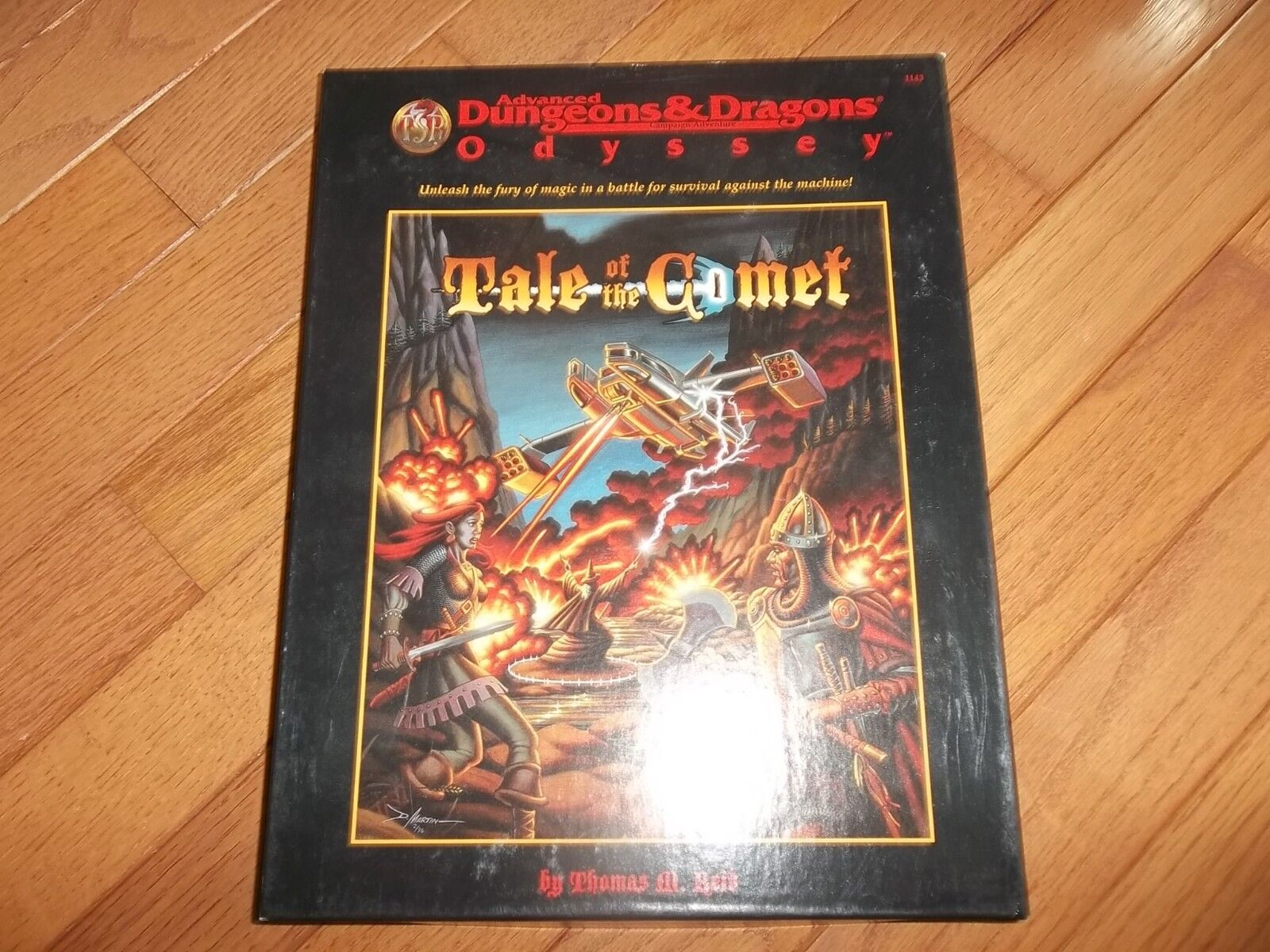 TSR AD&D Odyssey Tale of the Comet