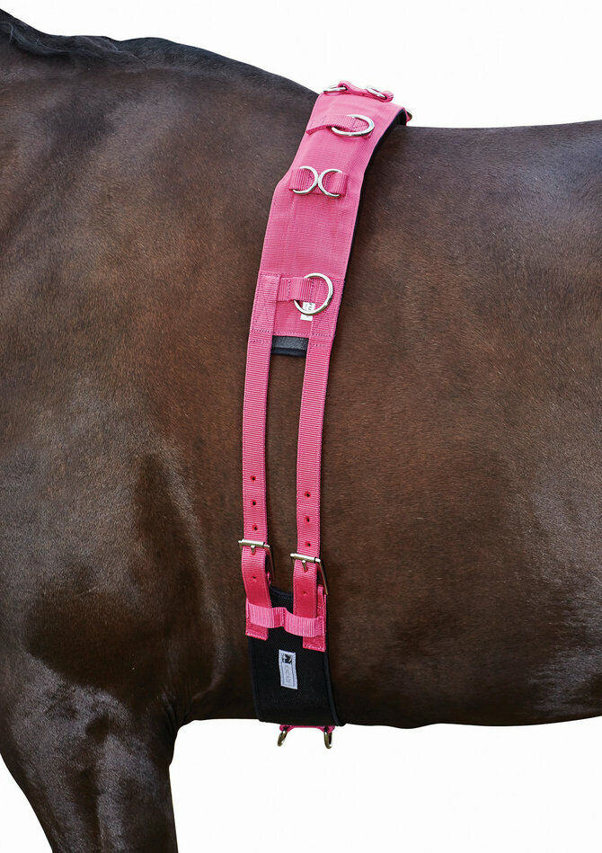 Kincade Brights Deluxe Equigrip Surcingle Hot Pink NEW