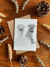 Birthday Recycled Any Occassion Silkie Chicken Greeting Card Blank
