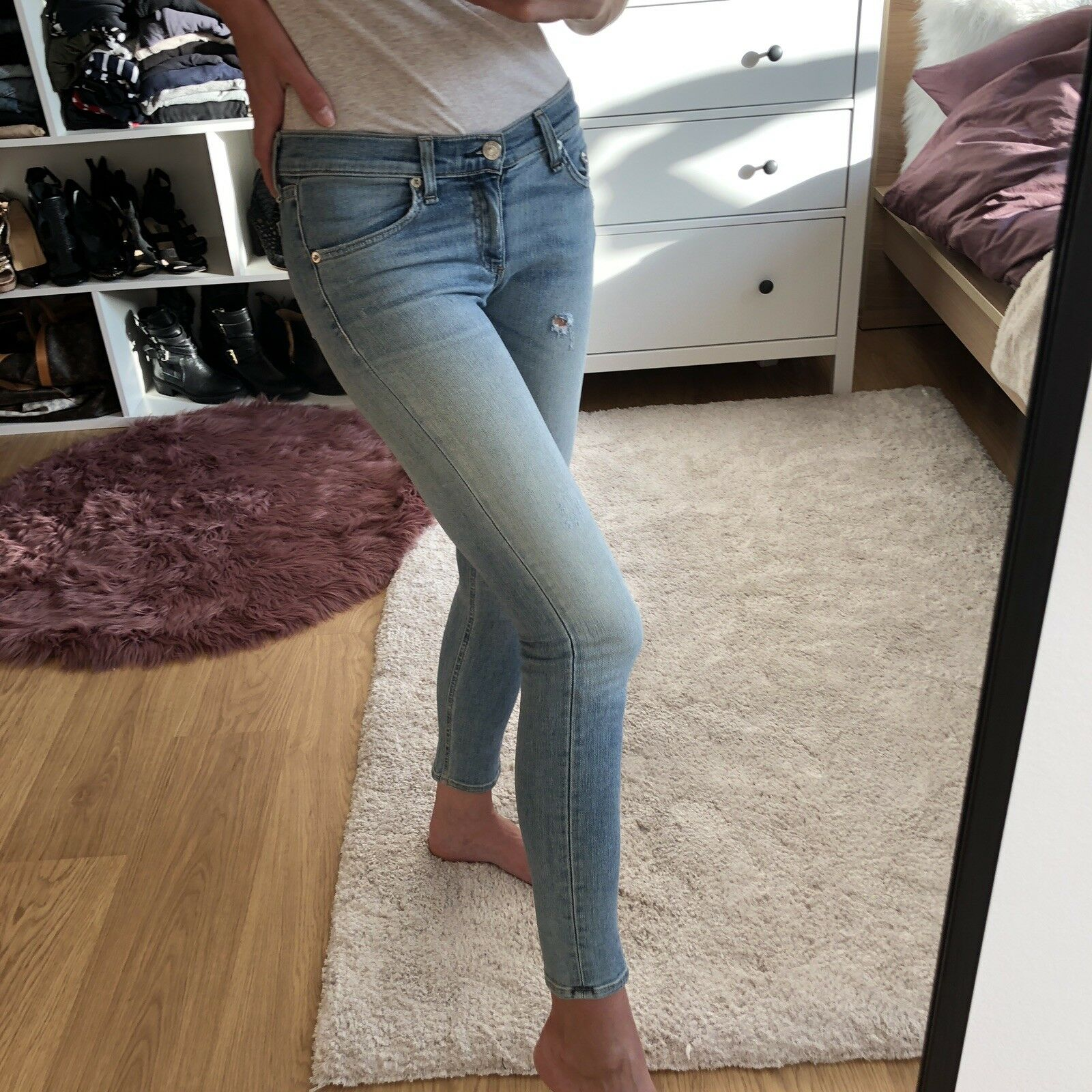 Rag & Bone Rag And Bone Shorter Cut Jeans size 24, size XS