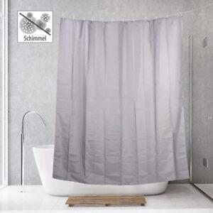 badestern anti schimmel duschvorhang grau 180 x 200 cm 12 befestigungsringe ebay. Black Bedroom Furniture Sets. Home Design Ideas