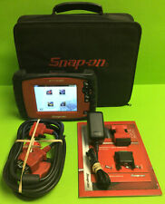 Snap On Eesc319 Ethos Plus Diagnostic Scan Tool With Bag Cable Amp Adapters Used
