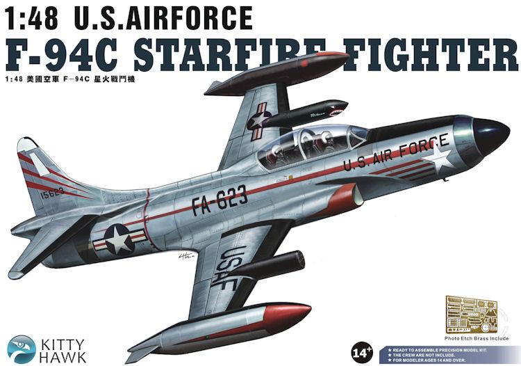 Kitty Hawk 1/48 F-94C Starfire USAF  80101