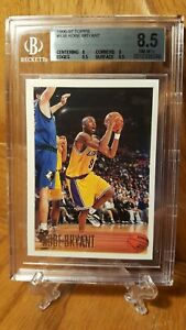 1996-97-Topps-138-Kobe-Bryant-Los-Angeles-Lakers-RC-Rookie-HOF-BGS-8-5-NM-MT