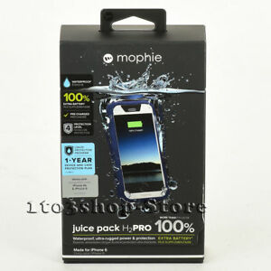 info for 4a64a 02e67 Details about Mophie Juice Pack H2PRO iPhone 6 iPhone 6s Waterproof Charger  Case Blue / White