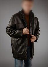 Mens Fuji-Red Sheep Leather Slim Fit Biker Jacket Casual Outwear LCM17