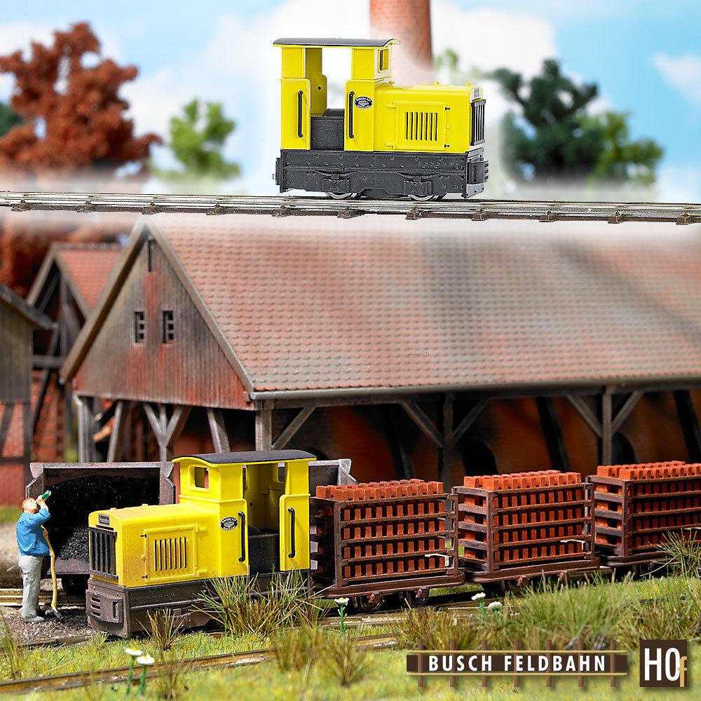 Busch 12110 diesel-locomotora gmeinder 15 18 h0f  neu en OVP