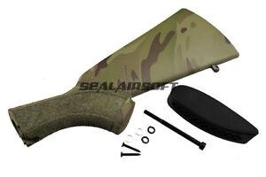 A-P-S-870-Police-Style-Butt-Stock-For-CAM-870-Shotgun-Stipple-Multi-Cam-CAM140