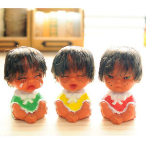 Ugly-Doll-3Pcs-Set-Funny-Face-Kids-Baby-Figure-Korean-Comic-Toy-Straight-Hair