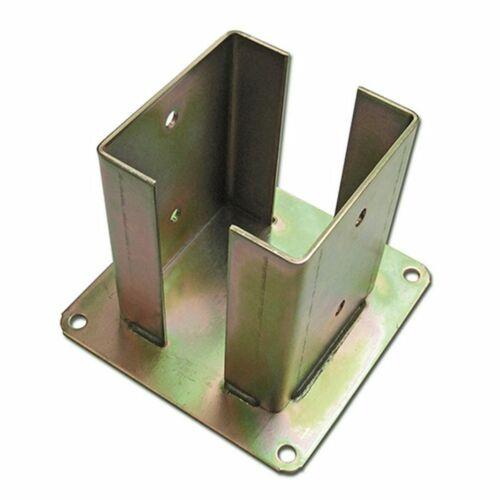 hohe Korrosionsbeständigkeit Pfostenträger 2X Pfostenschuhe CE Stahl verzinkt
