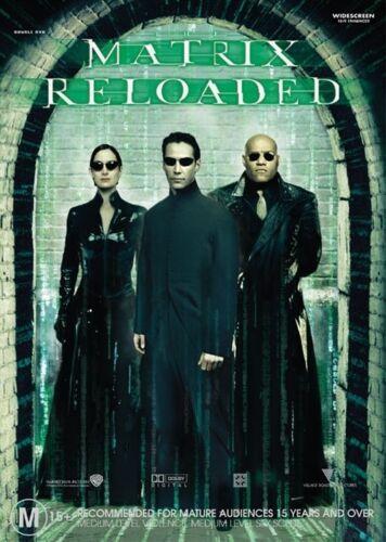 1 of 1 - Matrix Reloaded (DVD, 2008, 2-Disc Set)