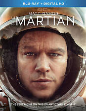 The Martian (Blu-ray Disc, 2016, Includes Digital Copy)