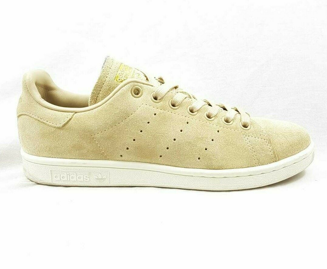 Adidas Stan Smiths Leather UK 6 biege Ladies trainers