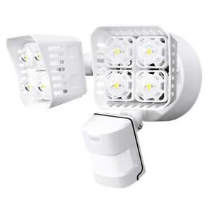 SANSI-30W-250W-Equiv-LED-Security-Motion-Sensor-Outdoor-Light-White-Square