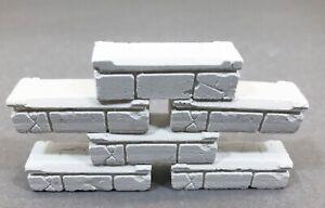 6X-Bloque-para-Diorama-LGB-Moldes-Guarderia-Ruinas-Burg-Bau-Nuevo-V-1361