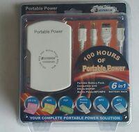 Hyperkin 6 in 1 Portable 10000mAh Multi Battery Power Pack for Nintendo DS Lite, Nintendo DS, Sony PSP, MP3 a...