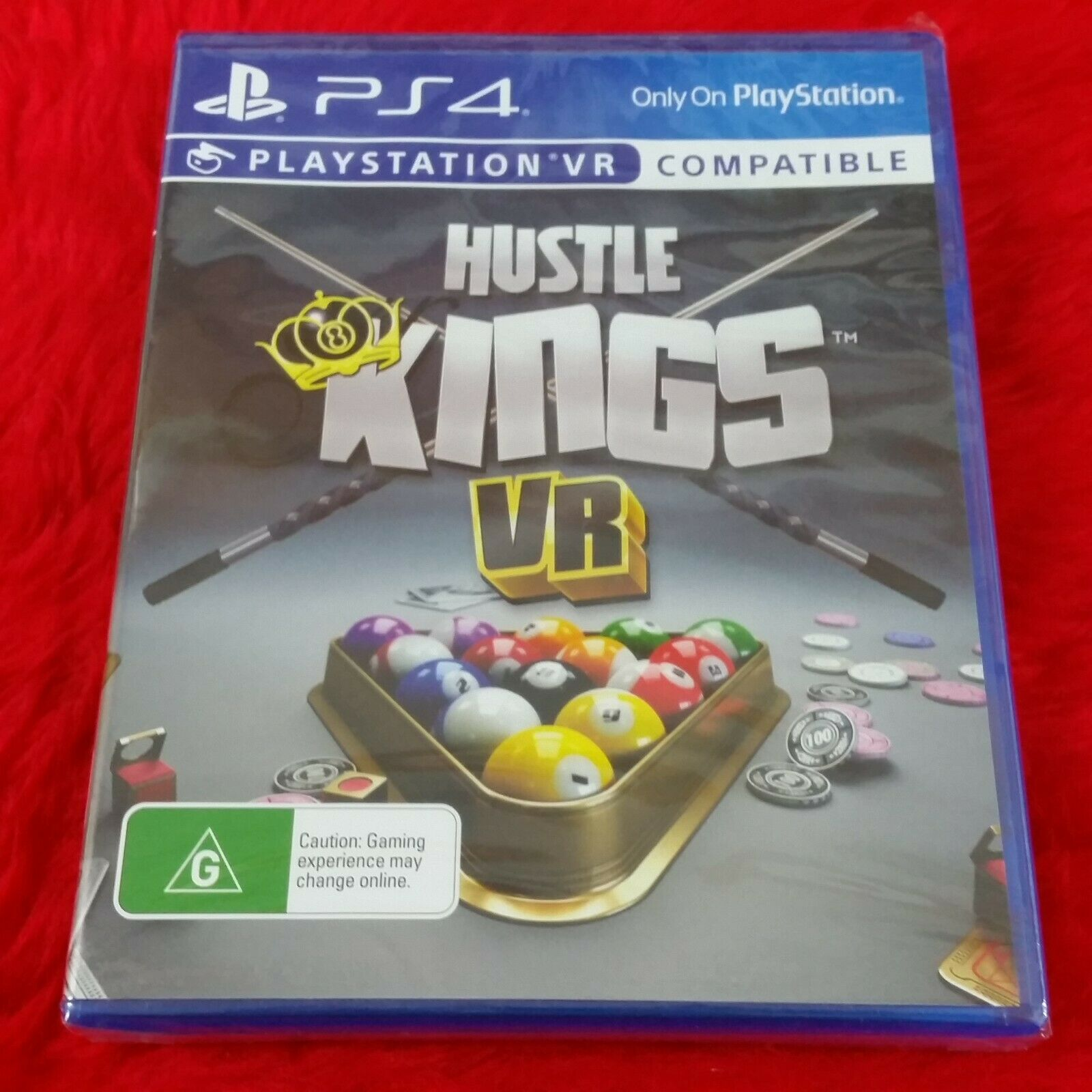 ps4 HUSTLE KINGS VR (8 Ball/Pool/Snooker) + More NEW REGION FREE PS5 Compatible