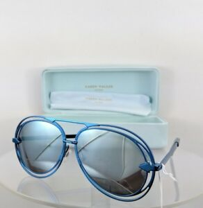 4eaf4d798a6a Image is loading Brand-New-Authentic-Karen-Walker-Sunglasses-JACQUES-Blue-