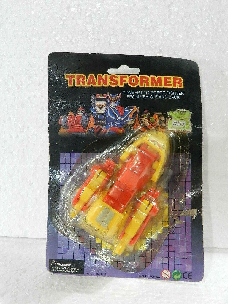 Vintage Transformers MOTORCYCLE  1980'S RARE