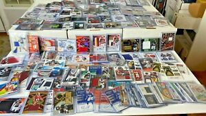 25-SUPER-Football-Hot-Pack-Card-Lot-AUTO-Jersey-PATCH-RC-Prizm-amp-BONU