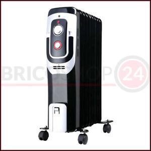 Termosifone Elettrico a Olio 2000 watt Termoradiatore Stufetta Radiatore Stufa